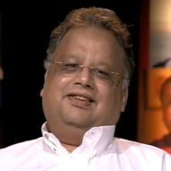 A Conversation With :   Rakesh Jhunjhunwala, ace investor